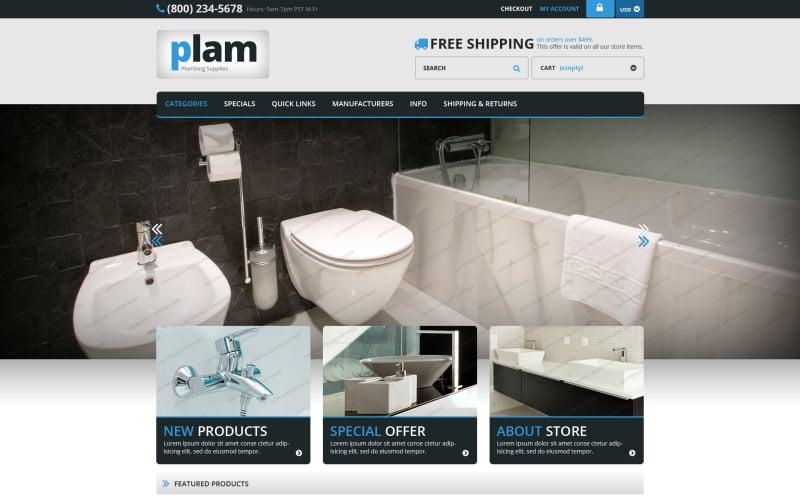 Plam ZenCart Template