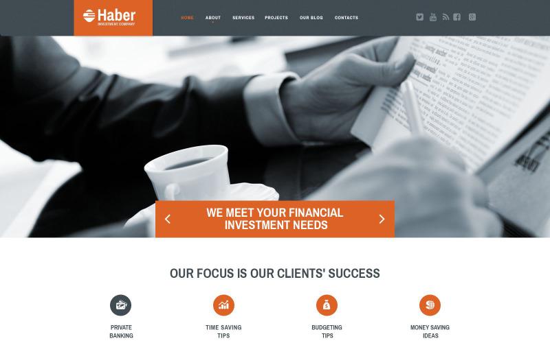 Szablon responsywnej witryny biznesowej i usługowej