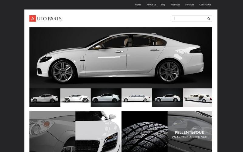 Wheels & Tires Responsive WordPress Theme
