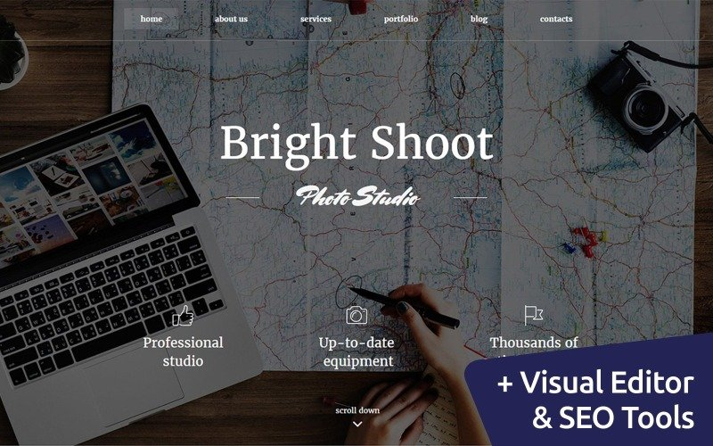 Bright Shoot - Travel Photo Gallery Photo Gallery Template