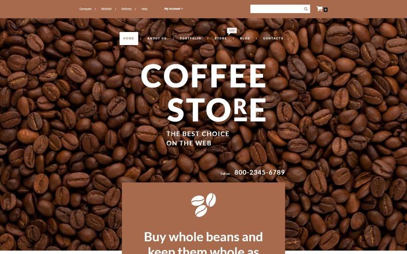 Coffee Store WooCommerce Theme