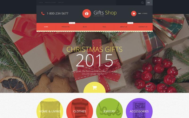 Gifts Shop Shopify Theme