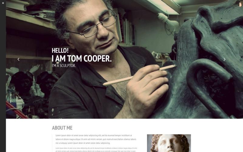 Sculptor Web Sitesi Şablonu