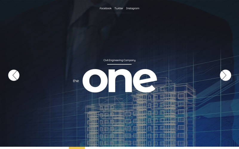 The One Website Template
