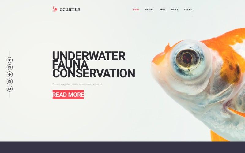 Aquarius Website Template