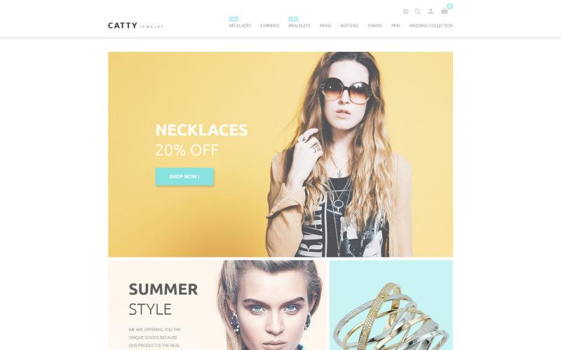Catty Jewelry PrestaShop Theme