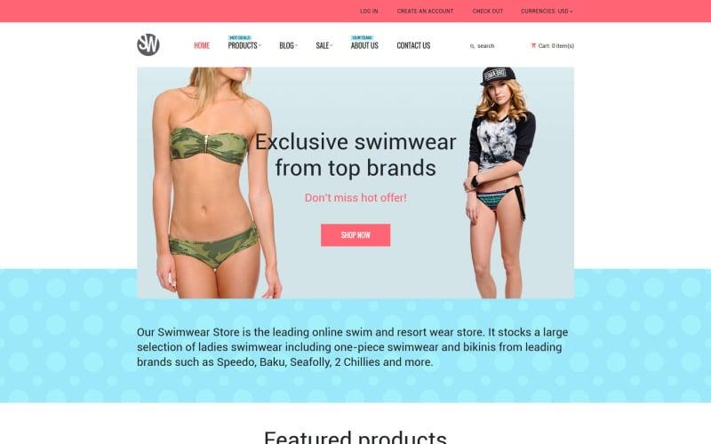 Swimwear Shopify Theme