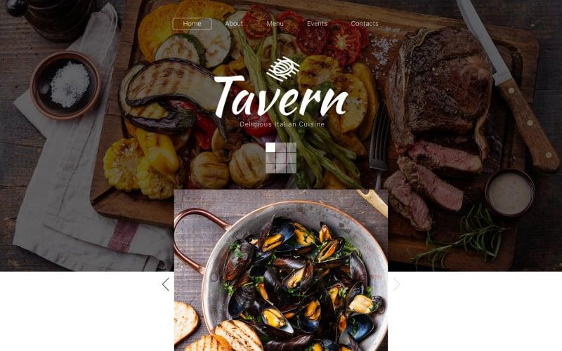 Tavern Website Template