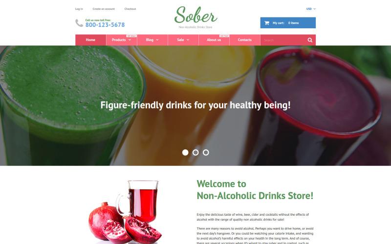Téma Sober Shopify