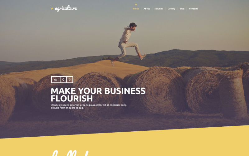 Agriculture PSD Template