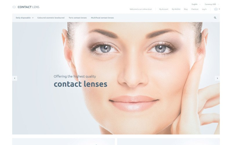 Clear Vision Magento-Thema