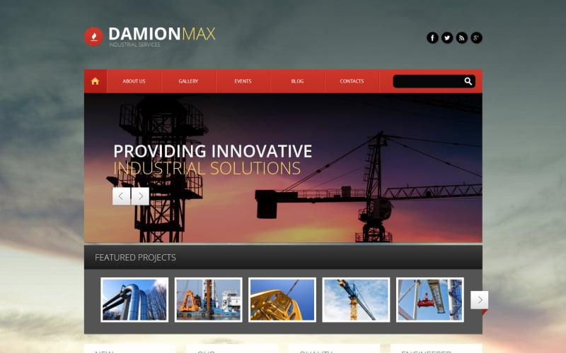 Damion Max PSD Template