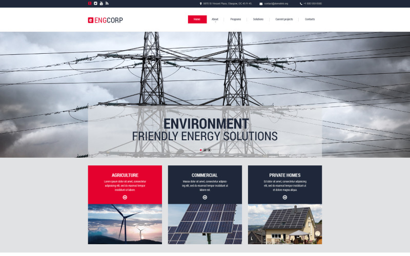 Engcorp PSD Template