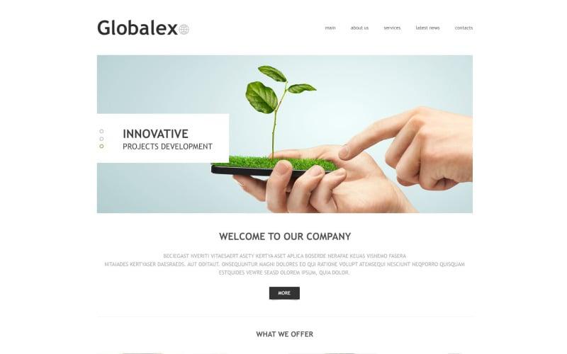 Globex PSD Template