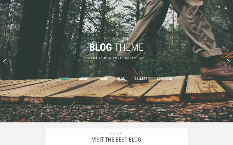 Blog Teması Joomla Şablonu