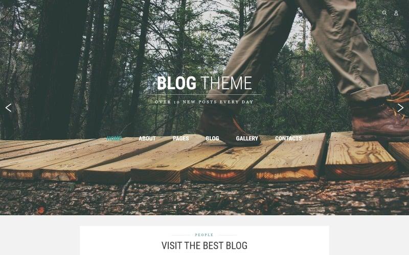 Blog Theme Joomla Template