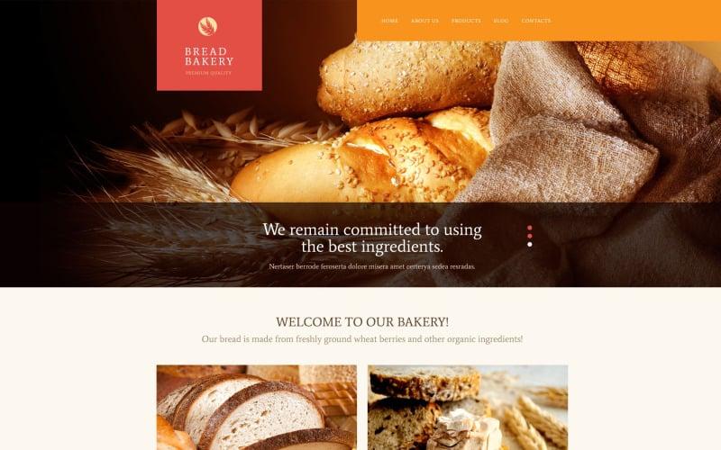 Bread Bakery PSD Template