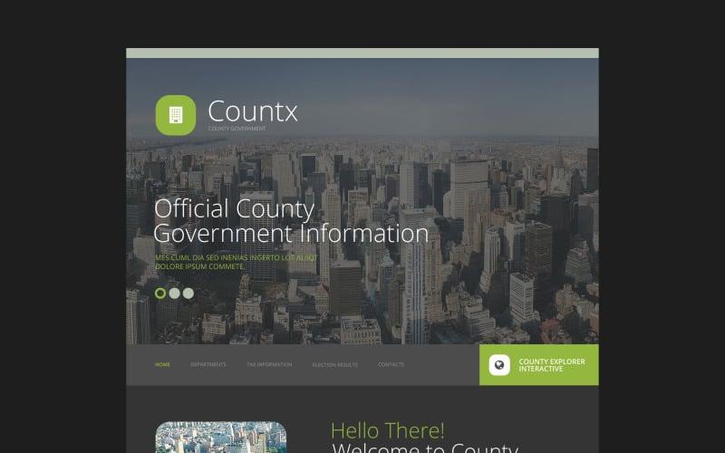 Countx Website Template