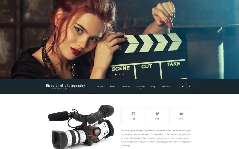 Director de fotografía Tema de WordPress