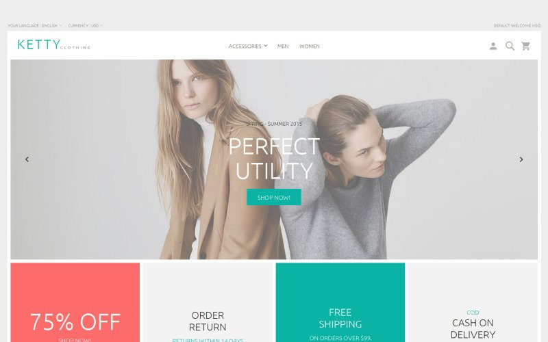 Ketty Magento 2 Beta Magento Theme