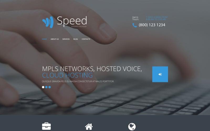 Speed PSD Template