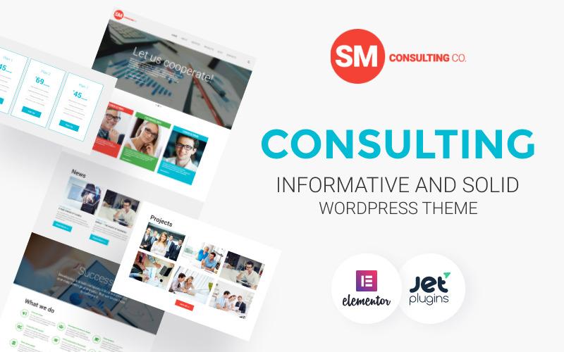 Tema de WordPress de Consulting Co