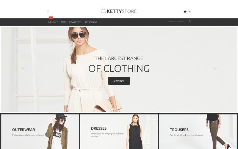 Téma KettyStore Magento
