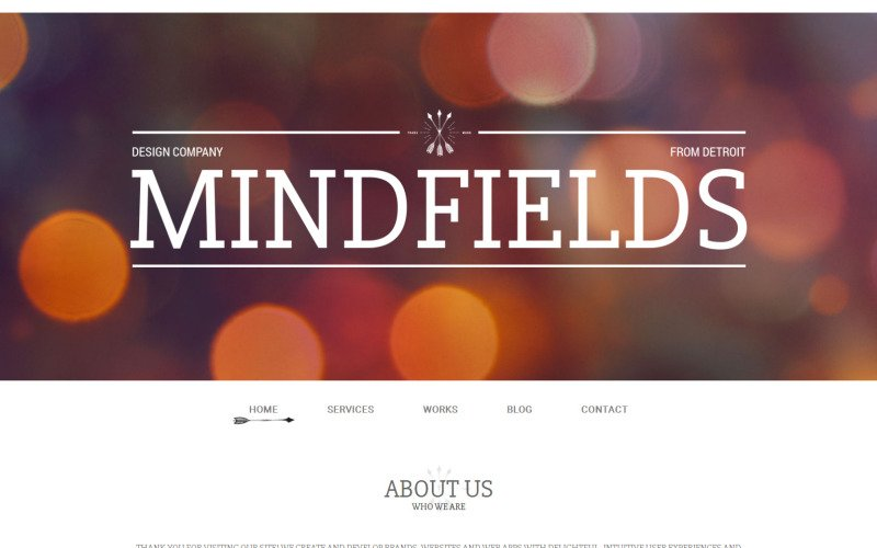 Thème WordPress Mind Fields
