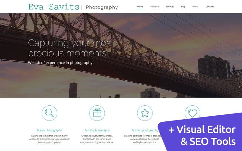 Eva Savits - Photo Portfolio Photo Gallery Template