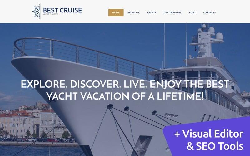 Luxus Yachting Moto CMS 3 Vorlage