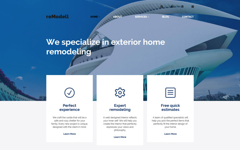reModell WordPress Theme