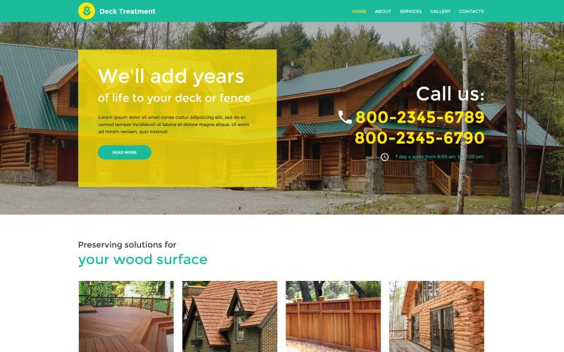Šablona webových stránek Responzivní design interiéru