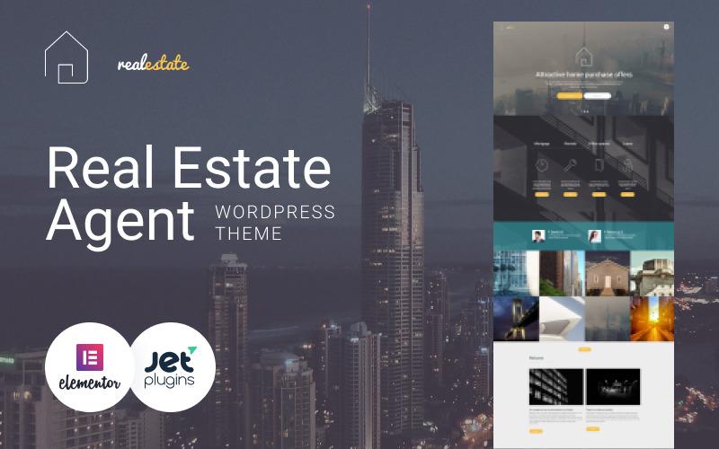 Tema de WordPress para bienes raíces