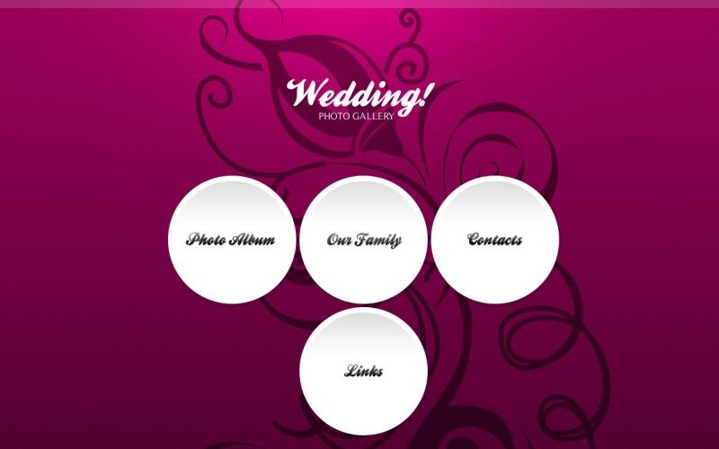 Wedding Album PSD Template