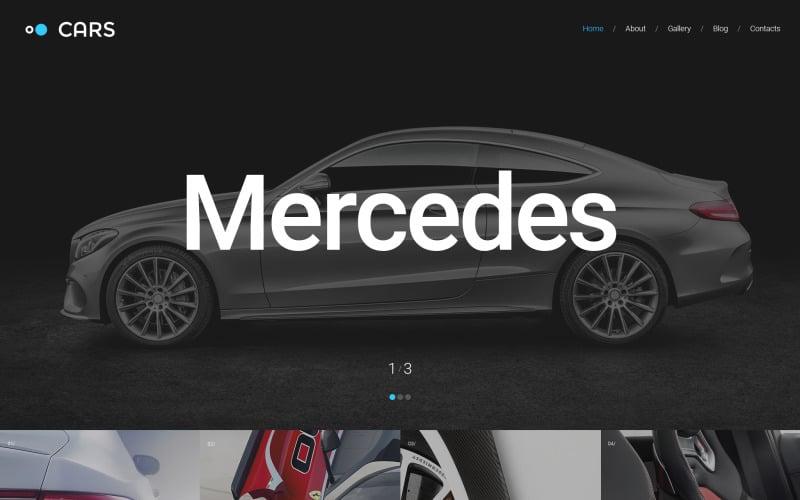 Auto Responsive Website-Vorlage