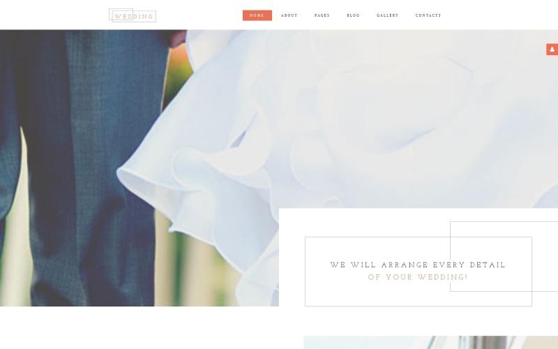Esküvői AG Joomla sablon