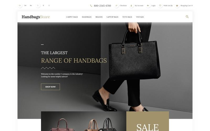 Handbags OpenCart Template