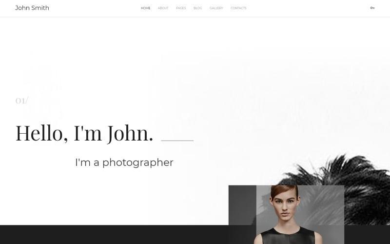 Personal Portfolio Joomla Template