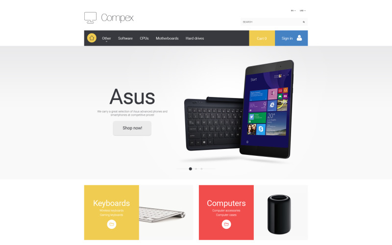 Тема Compex PrestaShop
