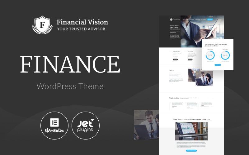 Financial Vision WordPress Theme