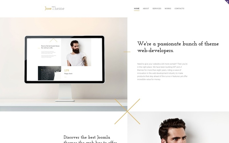 JoseTheme - Web Design Responsive Website Template