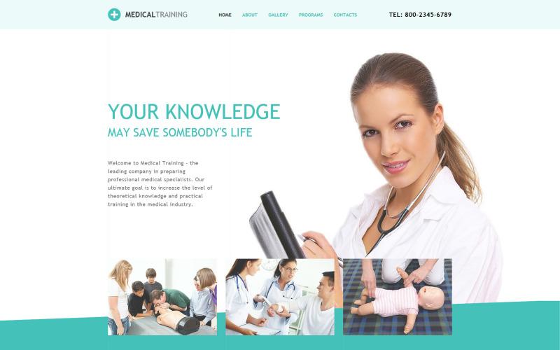 Med School Responsive Website Template