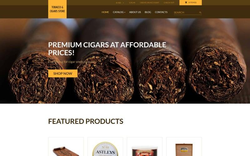 Tobacco VirtueMart Template