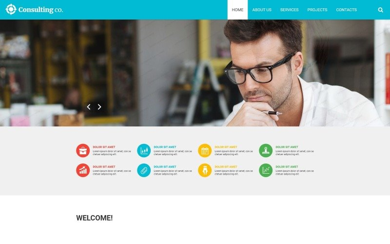 Consulting Responsive Website Template