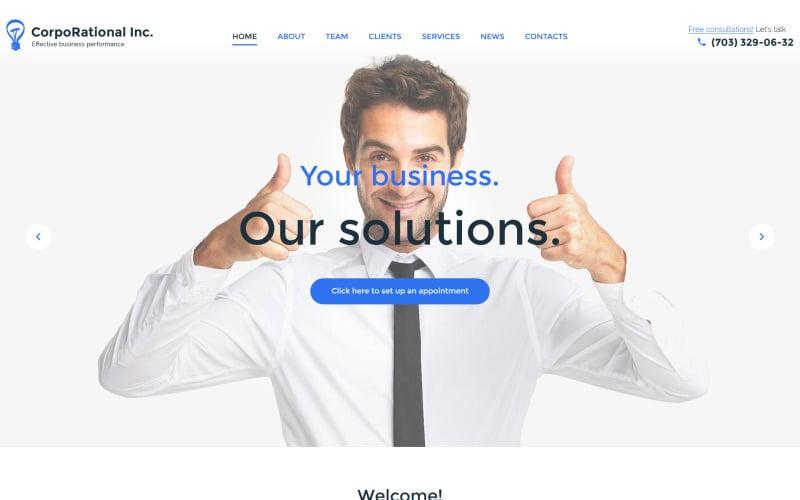 CorpoRational WordPress Theme
