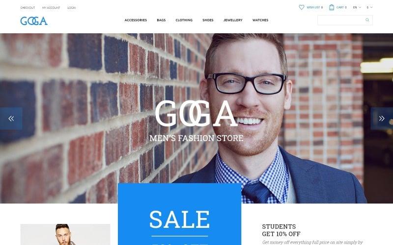 GOGA OpenCart Template