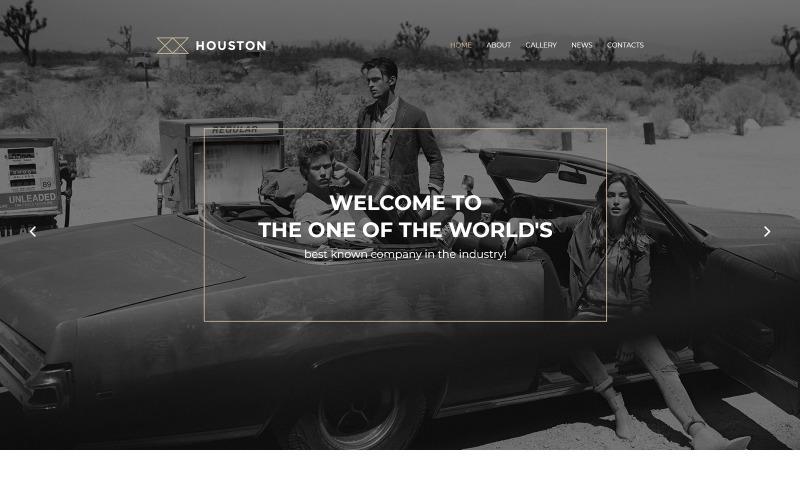 Хьюстонская тема WordPress