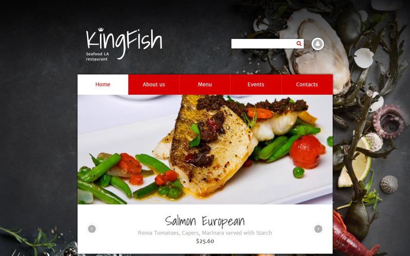 KingFish Drupal Template
