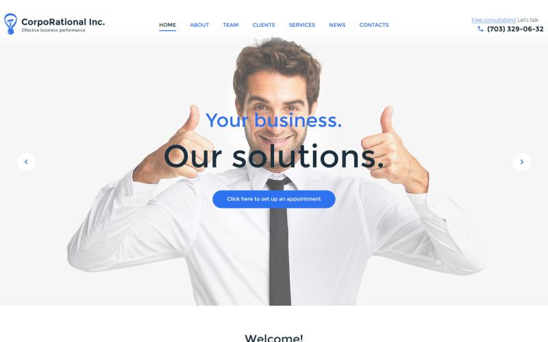 Корпоративная тема WordPress