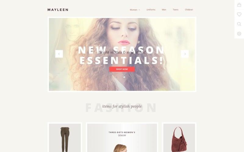 Mayleen OpenCart Template
